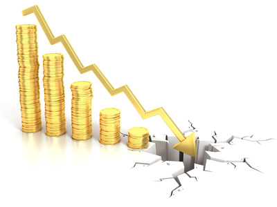 Financial crisis and stock market crash